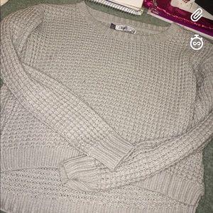 Jenifer Lopez cropped sweater